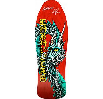 Bones Brigade Caballero Blem Skateboard Red Deck Signed by GAP/Stacy