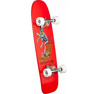 Bones Brigade Mullen Series 7 Skateboard Complete Red- 7.13 X 26.13